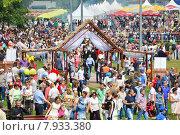 Купить «Праздник Сабантуй в Коломенском парке в Москве 18 июля 2015», эксклюзивное фото № 7933380, снято 18 июля 2015 г. (c) lana1501 / Фотобанк Лори