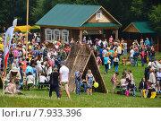 Купить «Праздник Сабантуй в Коломенском парке в Москве 18 июля 2015», эксклюзивное фото № 7933396, снято 18 июля 2015 г. (c) lana1501 / Фотобанк Лори