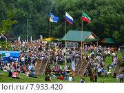 Купить «Праздник Сабантуй в Коломенском парке в Москве 18 июля 2015», эксклюзивное фото № 7933420, снято 18 июля 2015 г. (c) lana1501 / Фотобанк Лори
