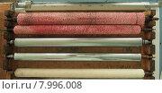 Купить «Комплект увлажняющих валиков из офсетной печатной машины», фото № 7996008, снято 23 июля 2015 г. (c) Ельцов Владимир / Фотобанк Лори
