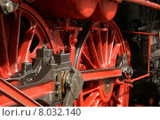 Купить «detail vehicle historical wheel train», фото № 8032140, снято 20 октября 2018 г. (c) PantherMedia / Фотобанк Лори