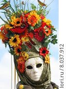 Купить «woman mask carnival venice revetment», фото № 8037912, снято 21 августа 2019 г. (c) PantherMedia / Фотобанк Лори