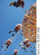 Купить «family munich familiy octoberfest carousel», фото № 8047548, снято 17 октября 2019 г. (c) PantherMedia / Фотобанк Лори
