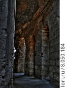 Купить «red dark arch ruin rome», фото № 8050184, снято 21 сентября 2018 г. (c) PantherMedia / Фотобанк Лори