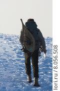 Купить «winter cold hike arctic trappers», фото № 8056508, снято 15 ноября 2019 г. (c) PantherMedia / Фотобанк Лори