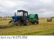 Заготовка сена. Редакционное фото, фотограф Сергей Куранов / Фотобанк Лори