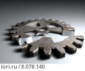 Купить «old art metal digital wheel», фото № 8078140, снято 20 октября 2018 г. (c) PantherMedia / Фотобанк Лори