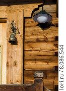 Купить «light wood lamp bell railing», фото № 8086544, снято 4 декабря 2019 г. (c) PantherMedia / Фотобанк Лори