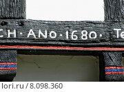 Купить «old building time house date», фото № 8098360, снято 23 февраля 2019 г. (c) PantherMedia / Фотобанк Лори