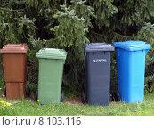 Купить «recycling trash mull dustbins refuse», фото № 8103116, снято 21 марта 2019 г. (c) PantherMedia / Фотобанк Лори