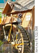 Купить «Мельница в оранжерее отеля Bellagio в Лас-Вегасе», фото № 8122568, снято 21 октября 2013 г. (c) Николай Кокарев / Фотобанк Лори
