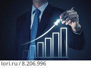 Купить «Business growth», фото № 8206996, снято 28 февраля 2013 г. (c) Sergey Nivens / Фотобанк Лори