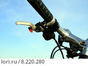 Купить «bike bicycle cycle handbrake handlebars», фото № 8220280, снято 20 февраля 2019 г. (c) PantherMedia / Фотобанк Лори