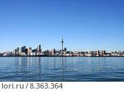 Купить «Auckland City, New Zealand on a clear sunny morning», фото № 8363364, снято 21 марта 2019 г. (c) PantherMedia / Фотобанк Лори