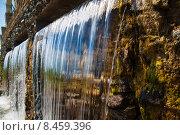 Тройной водопад. Стоковое фото, фотограф Виктор Аксёнов / Фотобанк Лори