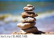 Стопка камней. Стоковое фото, фотограф Виктор Аксёнов / Фотобанк Лори