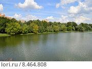 Купить «Верхний и Нижний Люблинские пруды в Москве», эксклюзивное фото № 8464808, снято 29 июля 2015 г. (c) lana1501 / Фотобанк Лори