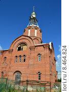 Купить «Церковь Татианы Мученицы в Люблине (каменная)», эксклюзивное фото № 8464824, снято 29 июля 2015 г. (c) lana1501 / Фотобанк Лори
