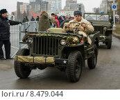 Военный парад 2014 год. Редакционное фото, фотограф Копытина Анжелика / Фотобанк Лори