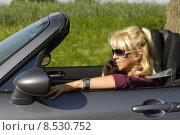 Купить «woman summer phone mobile telephone», фото № 8530752, снято 25 июня 2018 г. (c) PantherMedia / Фотобанк Лори