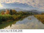 Купить «water autumn river morning fall», фото № 8536208, снято 22 июля 2019 г. (c) PantherMedia / Фотобанк Лори