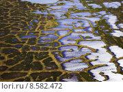 Купить «Aerial view of arctic tundra», фото № 8582472, снято 20 августа 2019 г. (c) PantherMedia / Фотобанк Лори