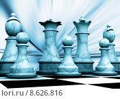 Chess pieces. Стоковая иллюстрация, иллюстратор Kirsty Pargeter / PantherMedia / Фотобанк Лори