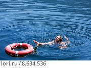 Купить «Drowning Man», фото № 8634536, снято 19 июля 2019 г. (c) PantherMedia / Фотобанк Лори