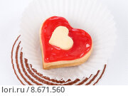 Купить «pastry cookies hearts biscuits sweetness», фото № 8671560, снято 21 августа 2018 г. (c) PantherMedia / Фотобанк Лори