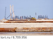 Купить «cranes geniusstrand jadeweserport sp lfeld», фото № 8709956, снято 19 октября 2018 г. (c) PantherMedia / Фотобанк Лори
