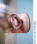 Купить «wall shine tube bell pipe», фото № 8730392, снято 19 февраля 2019 г. (c) PantherMedia / Фотобанк Лори