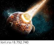 Купить «Earth apocalypse armageddon», фото № 8792740, снято 24 ноября 2017 г. (c) PantherMedia / Фотобанк Лори
