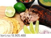 Купить «Mexican Carnitas», фото № 8905488, снято 20 сентября 2019 г. (c) PantherMedia / Фотобанк Лори
