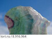crystal mineral fluorite calciumfluorid halbedelstein. Стоковое фото, фотограф Stella Mielke / PantherMedia / Фотобанк Лори