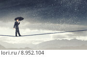 Купить «Pessimist in business», фото № 8952104, снято 25 марта 2014 г. (c) Sergey Nivens / Фотобанк Лори