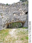 Купить «tunnels in rock», фото № 9022000, снято 23 марта 2019 г. (c) PantherMedia / Фотобанк Лори