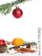 Купить «christmas snow xmas biscuit cinnamon», фото № 9110052, снято 24 января 2019 г. (c) PantherMedia / Фотобанк Лори