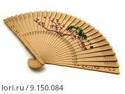 Купить «Chinese hand-held fan », фото № 9150084, снято 21 октября 2018 г. (c) PantherMedia / Фотобанк Лори