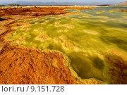volcano volcanism vulcan dallol danakil. Стоковое фото, фотограф Antje Große / PantherMedia / Фотобанк Лори