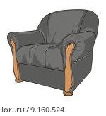 Купить «isolated colored armchair», иллюстрация № 9160524 (c) PantherMedia / Фотобанк Лори