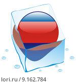 Купить «cambodia flag frozen in ice cube», фото № 9162784, снято 21 марта 2019 г. (c) PantherMedia / Фотобанк Лори