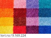 Купить «Colored carpet», фото № 9169224, снято 15 сентября 2019 г. (c) PantherMedia / Фотобанк Лори