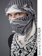 Купить «arabic man in headscarf», фото № 9216424, снято 27 июня 2019 г. (c) PantherMedia / Фотобанк Лори