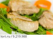 Купить «diet pork barbecue grill carrot», фото № 9219988, снято 20 июня 2019 г. (c) PantherMedia / Фотобанк Лори