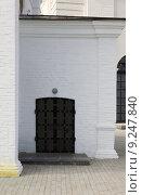Купить «Тобольский кремль (фрагмент дома)», фото № 9247840, снято 15 июля 2015 г. (c) Владимир Мельников / Фотобанк Лори