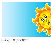 Купить «Lurking Sun on sky», иллюстрация № 9259824 (c) PantherMedia / Фотобанк Лори