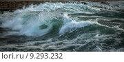 Купить «Шторм», фото № 9293232, снято 17 октября 2013 г. (c) Минаев Сергей / Фотобанк Лори