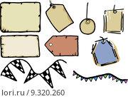Купить «Tags, Paper and Labels», иллюстрация № 9320260 (c) PantherMedia / Фотобанк Лори