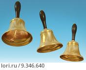 Купить «Three bells», фото № 9346640, снято 25 июня 2019 г. (c) PantherMedia / Фотобанк Лори