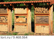 Купить «nature protection ecology insect hotel», фото № 9468064, снято 15 октября 2019 г. (c) PantherMedia / Фотобанк Лори